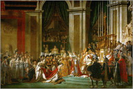 Jacques-Louis David - Segnung Napoleons