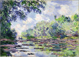 Claude Monet - Seine bei Giverny