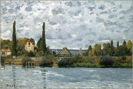 Alfred Sisley - Seine in Bougival