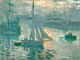 Claude Monet - Seine in Rouen