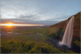 Christian Kober - Seljalandsfoss am Abend