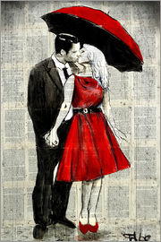 Loui Jover - she wore red