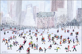 Judy Joel - Skating Rink, Central Park, New York, 1994