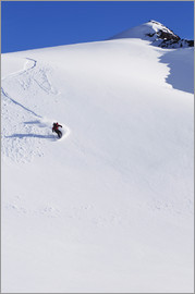 Dan Bailey - Snowboarder in den Chugach Mountains