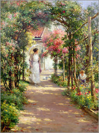 William Kay Blacklock - Sommer im Garten