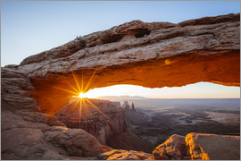 Matteo Colombo - Sonnenaufgang am Mesa Arch, Canyonlands Nationalpark, Utah, USA