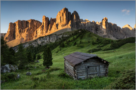 Dennis Fischer - Sunrise in the Dolomites