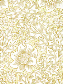 William Morris - Sonnenblume
