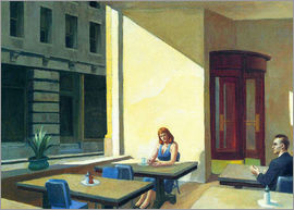 Edward Hopper - sunlight in cafeteria