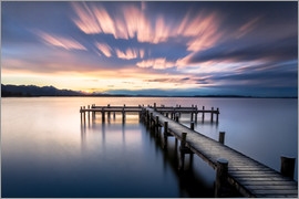 Sebastian Jakob - Sunset at Chiemsee