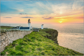Michael Valjak - Sonnenuntergang am Dunnet Head in Schottland