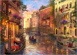 Dominic Davison - sunset in venice