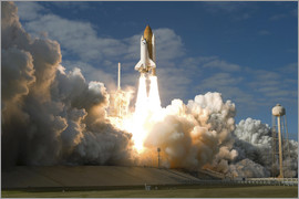 Stocktrek Images - Space shuttle Atlantis lifts off