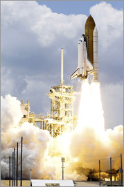 Stocktrek Images - Space Shuttle Atlantis startet