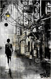 Loui Jover - Spaziergang durch Chinatown