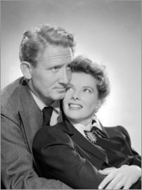 Spencer Tracy und Katharine Hepburn