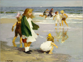 Edward Henry Potthast - Play in the Surf