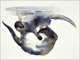 Mark Adlington - Playing Otter in the water