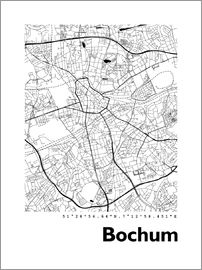 44spaces - City map of Bochum