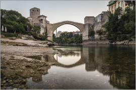 Mike Clegg Photography - Stari Most Bosnien am Morgen