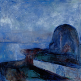 Edvard Munch - Sternennacht