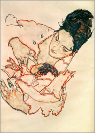Egon Schiele - Stillende Mutter (Stephanie Grünwald)