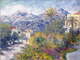 Claude Monet - Strada Romana in Bordighera. 1884