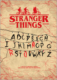 HDMI2K - Stranger Things - Minimal TV-Show Fanart alternative