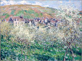 Claude Monet - Strohhaus in der Normandie