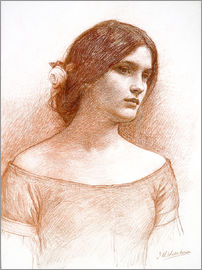 John William Waterhouse - Studie für die Dame Clare