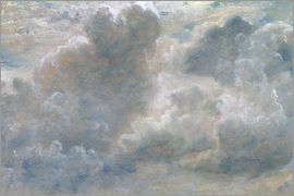 John Constable - Study of Cumulus Clouds
