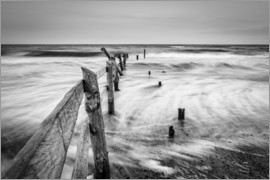 Sascha Kilmer - Stormy Baltic Sea (monochrome)