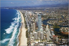 David Wall - Surfers Paradise - Luftperspektive