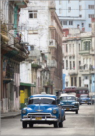 Lee Frost - Taxis in the Colon Avenue, Cuba