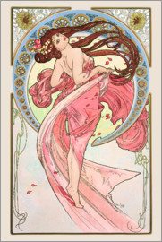 Alfons Mucha - The Arts - Dance