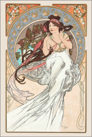 Alfons Mucha - The Arts - Music
