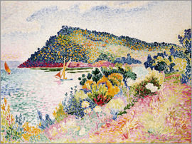 Henri Edmond Cross - The Black Cape, Pramousquier Bay