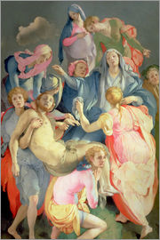 Jacopo Pontormo - The Deposition of Christ, 1525-28