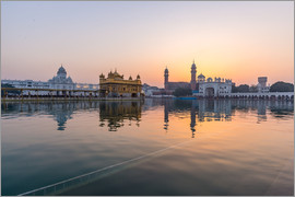 Fabio Lamanna - The Golden Temple at sunrise, Amritsar, India
