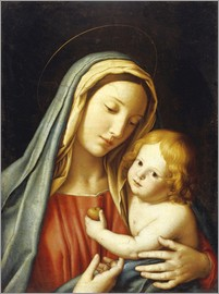 Il Sassoferrato - The Madonna and Child