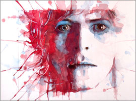 Paul Lovering Arts - The Prettiest Star : David Bowie