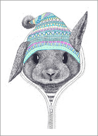 Valeriya Korenkova - The rabbit in a hood