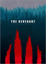 HDMI2K - The Revenant - Minimal Film Fanart alternative