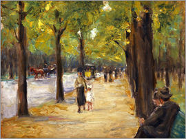 Max Liebermann - Tiergarten in Berlin