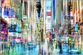 Nettesart - times square USA NYC New York Collage
