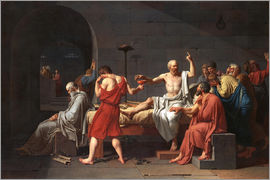 Jacques-Louis David - Tod des Sokrates