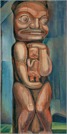 Emily Carr - Totem Mutter, Kitwancool