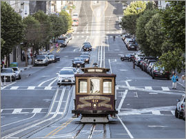 Matteo Colombo - Tram in Kalifornien Straße, San Francisco, USA