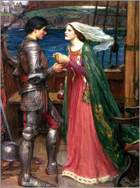 John William Waterhouse - Tristan und Isolde