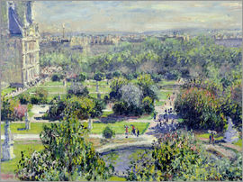 Claude Monet - Tuilerien-Gärten, Paris